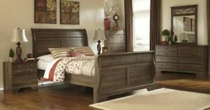 Ashley Sleigh Bedroom Set  (ASH202)