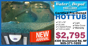 ★★ NEW ARRIVAL - Hot Tub Spa - Warranty - SAVE ★★