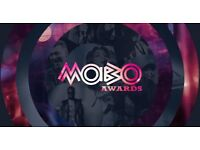 2 x Tickets MOBO 2016 AWARDS - Fantastic Seats - closest block to stage - Fri 4th Nov 16