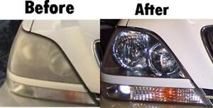 Headlight restoration in your place $30!!!!