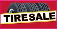BRAND NAME NEW  TIRES ON SALE ONLY @ LIBERTY TIRES