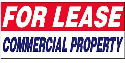 For Lease Vinyl Banner Shop Sign 2X4 Ft   Commercial Property Wb