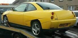 Fiat coupe 2.0 20v turbo 61000 miles spares/repairs