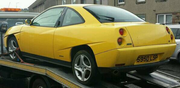 fiat coupe 2 0 20v turbo 61000 miles spares repairs in. Black Bedroom Furniture Sets. Home Design Ideas