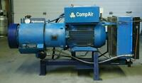 Used Hyrdovane 20hp 80 cfm Industrial Air Compressor 230v 3ph.