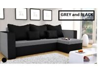 Corner sofa beds new FAST DELIVERY different colours,