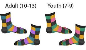 Adult-Or-Youth-Movie-Batman-The-Dark-Knight-Joker-Checker-Striped-Long-Socks