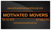 MOVING? Let The MOTIVATED MOVERS Move You!!!