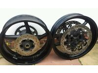 Yamaha R1 B14 Big Bang Wheels & Discs