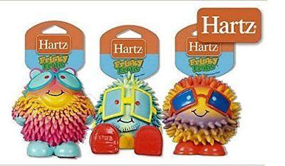 Hartz Frisky Frolic Latex Squeakable Dog Toy assorted