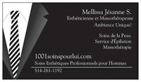 Pro Esthetic cares and Grooming for Men Montreal Longueuil
