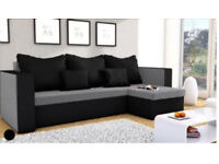 Corner sofa bed brand new free delivery