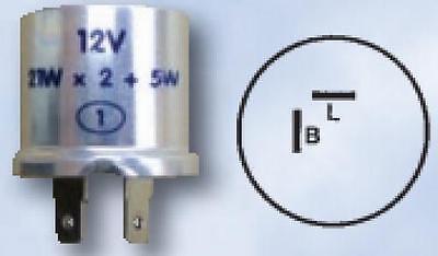 Flasher Units 12v 21w x 2 (+5w) Max 47 watt Relay Can Unit 2 Pin FL1