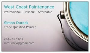 WEST COAST PAINTENANCE  - PAINTING and DECORATING Fremantle Fremantle Area Preview