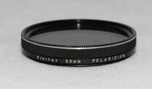 Filtre polarisant linéaire Vivitar 55mm - NEUF