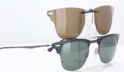Custom Fit Polarized CLIP-ON Sunglasses For Ray-Ban RB8056 5