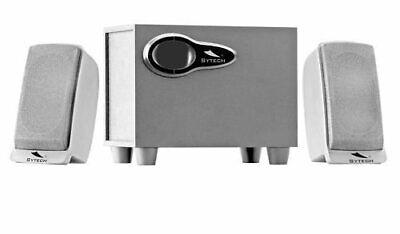 Sytech sy-1245 Sistema de Altavoces Multimedia MP3/CD/DVD Potencia 9W RMS Nuevo