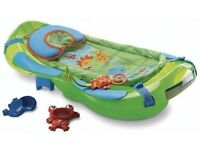 FISHER PRICE RAINFOREST 3 STAGES BATH