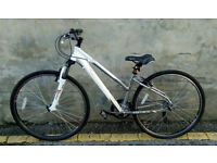 Ladies CARRERA Crossfire 1 Hybrid Bike In Excellent Condition