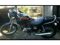 CAGIVA ROADSTER 125 2 STROKE. GOOD CONDITION, OFFERS