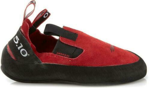 Five Ten Rock Climbing Shoes ANASAZI  MOCCASYM Red, BC0891