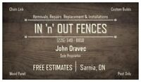 Fence/Post Installation & Repair
