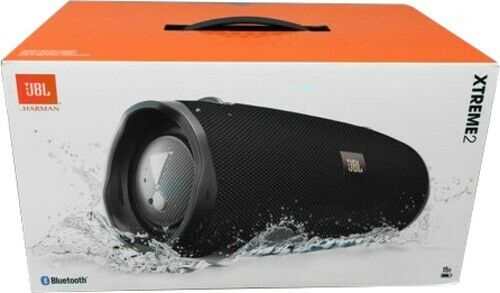 JBL Xtreme 2 Portable Bluetooth Speaker Midnight Black JBLXTREME2BLKAM