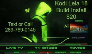 Android Box Updates Kodi leia 18 build Installs