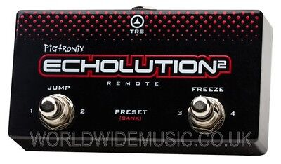 Pigtronix Echolution 2 REMOTE - Remote Switch for Echolution 2 Effects Pedal