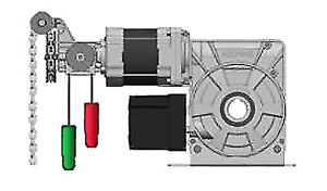 3phase direct drive garage roller shutter door metal motor lp550 40mm shaft ebay. Black Bedroom Furniture Sets. Home Design Ideas