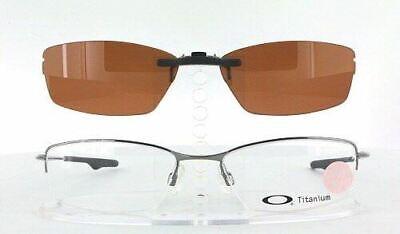Custom Made for Oakley WINGBACK-OX5089-51X18 Polarized Clip-On Sunglasses (Custom Made Clip On Sunglasses)
