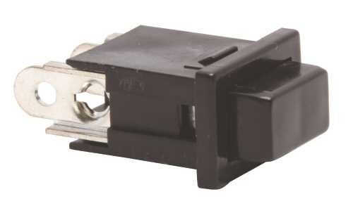 Pacific Electronics Replacement Push Button For Intercom, Black, 10 Per Pack