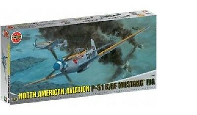 Chasseur US. NORTH AMERICAN MUSTANG P-51K Kit AIRFIX 1/24 n° 14003
