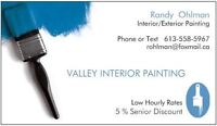 Valley Interior Painting