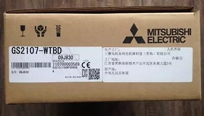New In Box Mitsubishi Hmi Gs2107-wtbd Fp