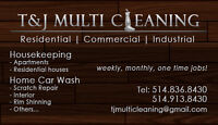T&J Multi Cleaning