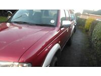 MAZDA B2500 PICK UP FORD RANGER. DIESEL DOUBLE CAB P.X SWAP