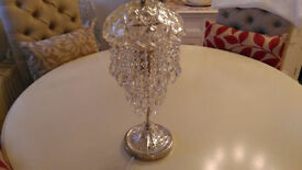 Glass Pendant Table Lamp