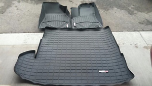 WeatherTech Floor Liner Black+Cargo Liners fit TOYOTA Highlander