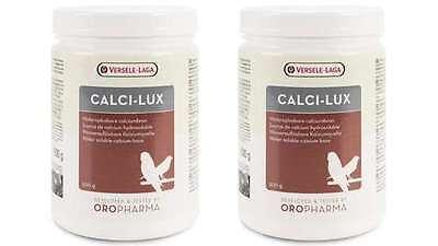1 kg Orlux Calci-lux für Vögel Kalziumpräparat Vogelfutter Nahrungsergänzung