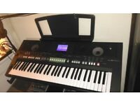 Yamaha PSRs 650 arranger keyboard (reduced price for quick sale) Mint condition.
