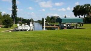 Port Charlotte Florida Vacation Rental Home on Canal