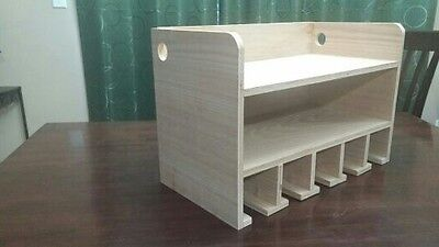 Cordless Drill Organizer, Storage and Charging Station