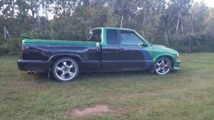 1997 s-10 mini custom step side lowered truck