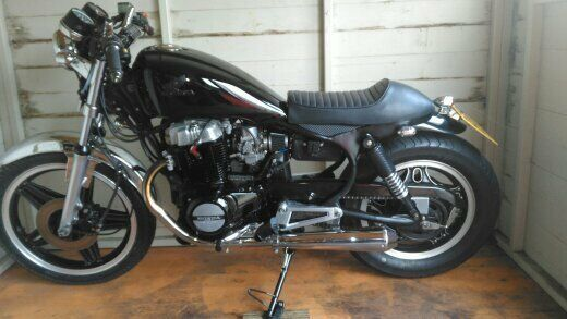 Honda CB450 Nighthawk Cafe Racer May Exchange For Suitable Upright Bike