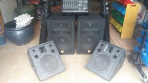 Slighly And Lightly Used PA SYSTEM