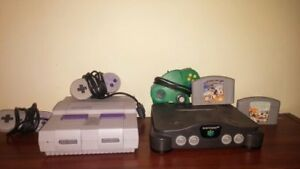 Nintendo 64 and Super Nintendo for sale (please read carefully)