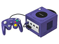 Nintendo game cube console only with tony hawks underground 2