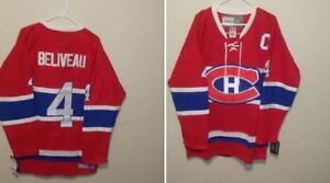 # 4 BELIVEAU - MONTREAL CANADIENS JERSEY - NEW