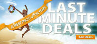 CHEAP LAST MINUTE FLIGHTS-DISCOUNTED-40% OFF